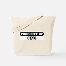 Property of Gino Tote Bag
