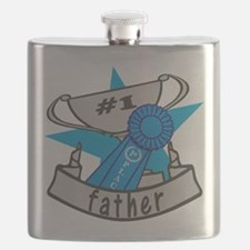 Worlds Best Father Flask