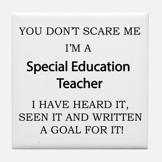 Special Education Teacher Tile Coaster