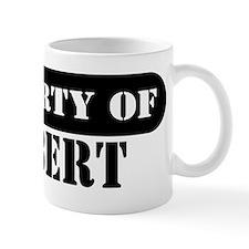 Property of Gilbert Mug