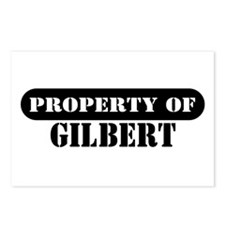 Property of Gilbert Postcards (Package of 8)
