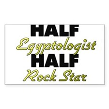 Half Egyptologist Half Rock Star Decal