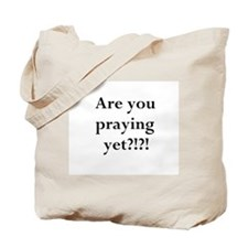 Cute For the love of god Tote Bag