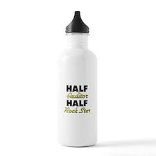 Half Auditor Half Rock Star Water Bottle