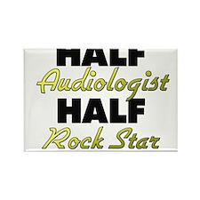 Half Audiologist Half Rock Star Magnets