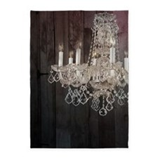barnwood chandelier country fashion 5'x7'Area Rug