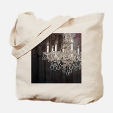 barnwood chandelier country fashion Tote Bag