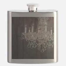 barnwood chandelier country fashion Flask