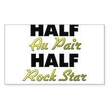 Half Au Pair Half Rock Star Decal