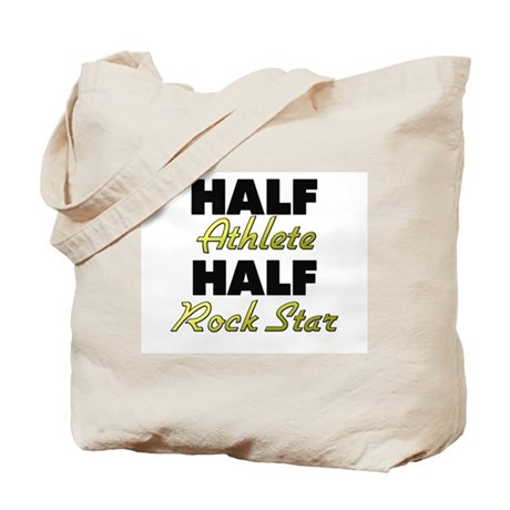 Half Athlete Half Rock Star Tote Bag