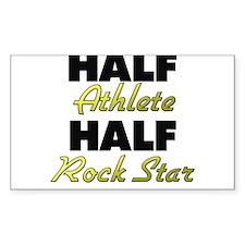 Half Athlete Half Rock Star Decal