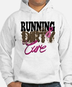 Running Dirty For The Cure Hoodie
