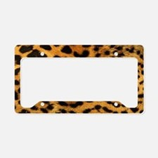 hot leopard print fashion License Plate Holder