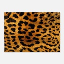 hot leopard print fashion 5'x7'Area Rug