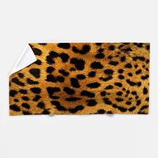 hot leopard print fashion Beach Towel
