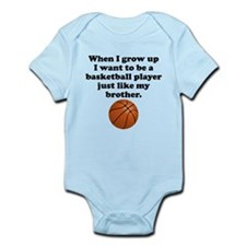 Basketball Player Like My Brother Body Suit