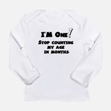 1st Birthday - I'm One! Long Sleeve Infant T-Shirt