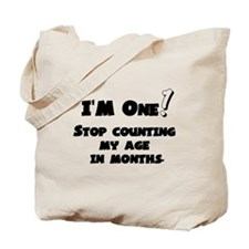 1st Birthday - I'm One! Tote Bag