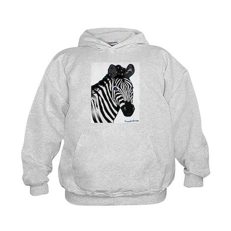 Zebra Lt Kids Hoodie