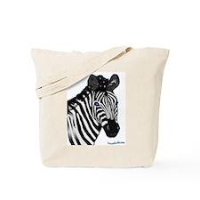Zebra Lt Tote Bag