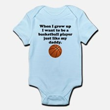 Basketball Player Like My Daddy Body Suit