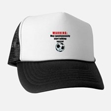 Spontaneous Soccer Talk Hat