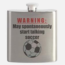 Spontaneous Soccer Talk Flask