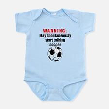 Spontaneous Soccer Talk Body Suit