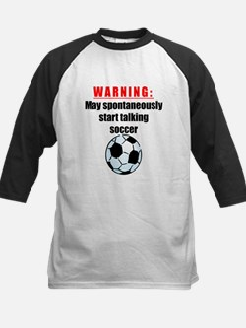 Spontaneous Soccer Talk Baseball Jersey