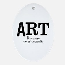 ART is... Ornament (Oval)