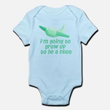 going-to-be-a-pilot Body Suit