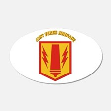 SSI - 41st Fires Brigade with Text Wall Decal
