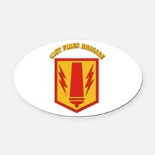 SSI - 41st Fires Brigade with Text Oval Car Magnet