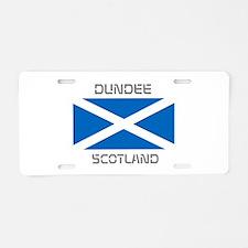 Dundee Scotland Aluminum License Plate