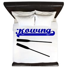 Id Rather Be Rowing King Duvet