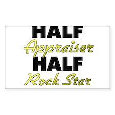 Half Appraiser Half Rock Star Decal