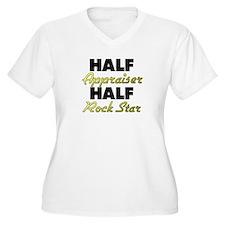Half Appraiser Half Rock Star Plus Size T-Shirt