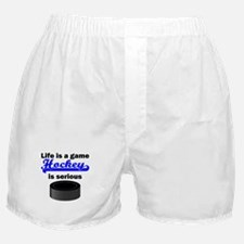 Hockey Is Serious Boxer Shorts