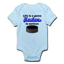 Hockey Is Serious Body Suit