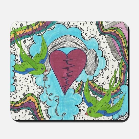 Music Pulse Mousepad