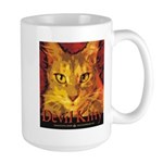 Devil Kitty Cat Large Mug