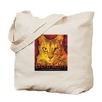 Devil Kitty Cat Tote Bag