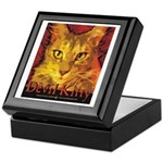 Devil Kitty Cat Keepsake Box