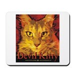 Devil Kitty Cat Mousepad