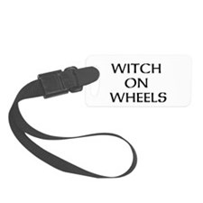WITCH ON WHEELS Luggage Tag