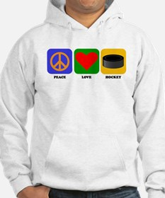 Peace Love Hockey Jumper Hoody
