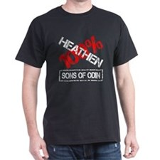 100% HEATHEN - SONS of ODIN T-Shirt