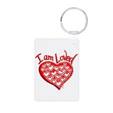 I am Loved Keychains