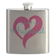 I love my Husband Flask