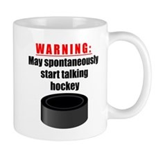 Spontaneous Hockey Talk Mugs